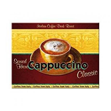 Магнит 8x6 см Cappuccino Nostalgic Art (14019)