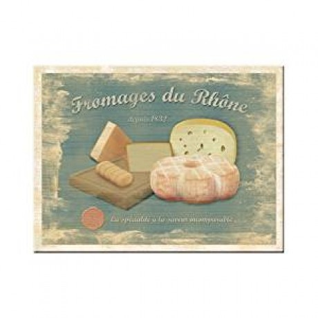 Магнит 8x6 смFromager du Rhone Nostalgic Art (14181)