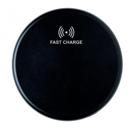 Док-станция для быстрой беспроводной зарядки, 10W, черная
