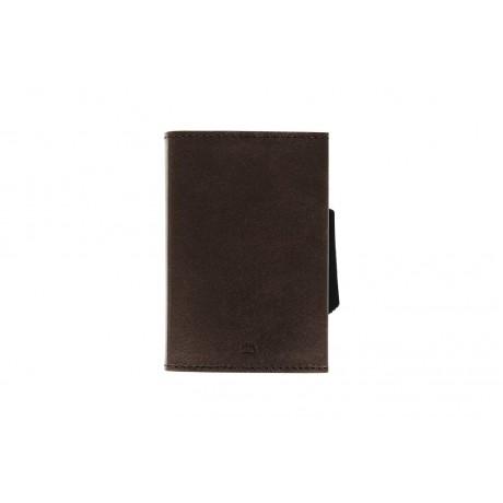 Бумажник на молнии OGON, коричневый