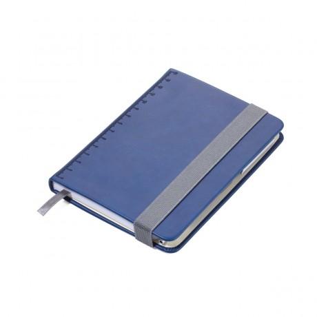 Блокнот с шариковой ручкой Troika Slim синий