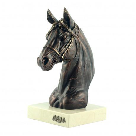Бюст Anglada «Лошадь», бронза