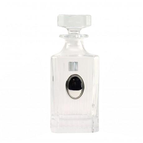 "Сет для виски Boss Crystal ""ГАРМОНИЯ ТРИО""; графин; 2 стакана; серебро"