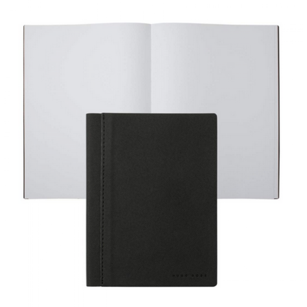 Блокнот Hugo Boss A6 Advance Fabric Dark Grey