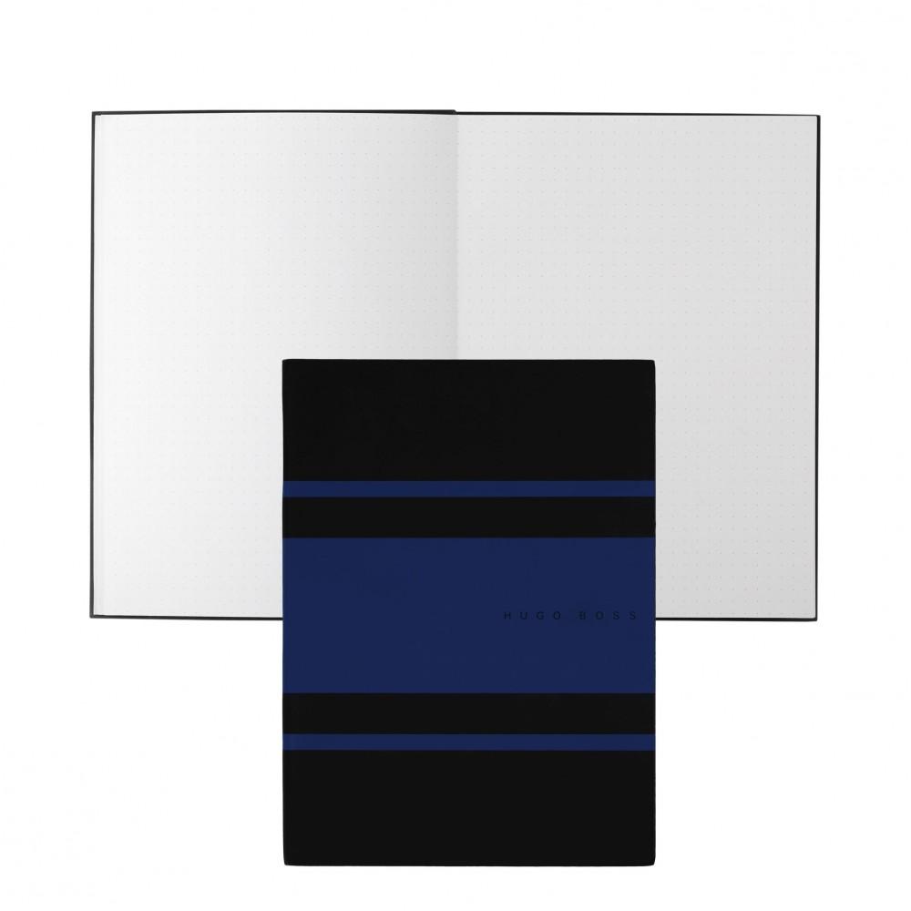 Блокнот A5 Gear Matrix Blue Hugo Boss