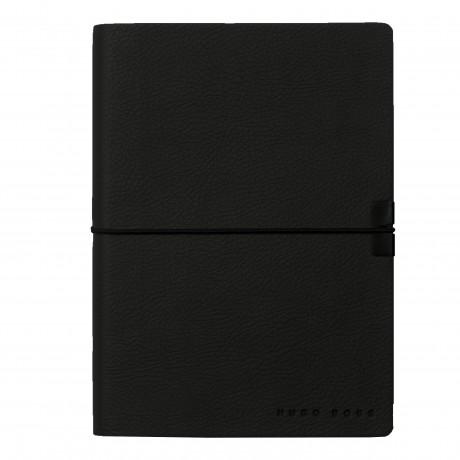 Блокнот Hugo Boss A6 Storyline Black