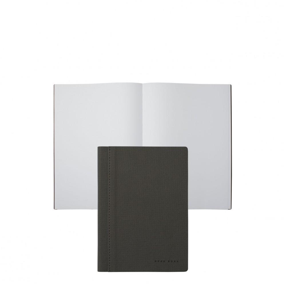 Блокнот Hugo Boss A6 Advance Fabric Light Grey