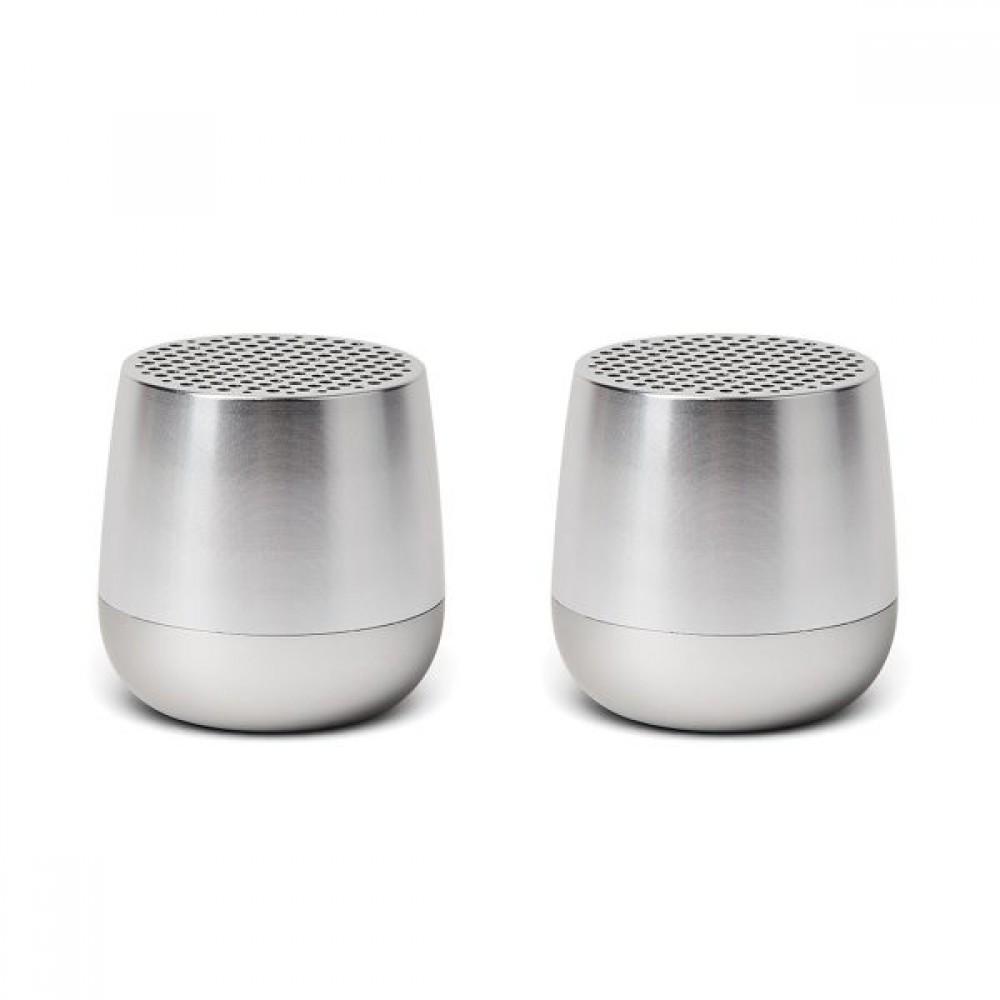 Два Bluetooth динамика LEXON TWIN MINO, алюминий