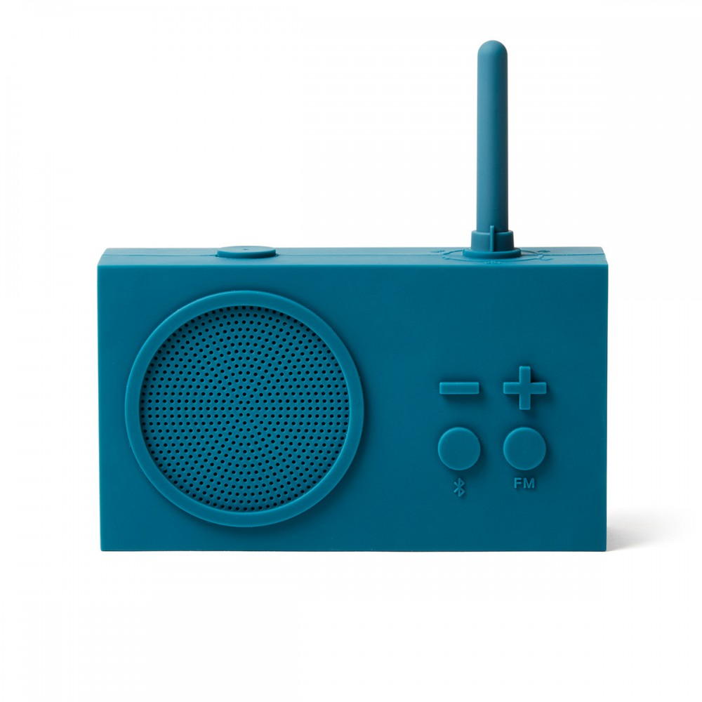 Bluetooth колонка с радио LEXON Tykho 3 темно-синий