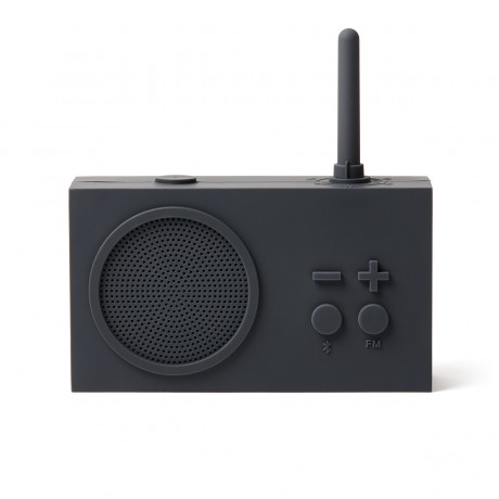 Bluetooth колонка с радио LEXON Tykho 3 темно-серый