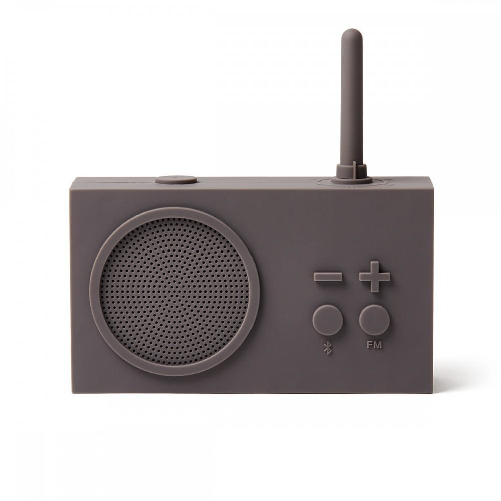 Bluetooth колонка с радио LEXON Tykho 3 серый