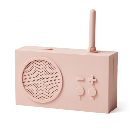 Bluetooth колонка с радио  LEXON Tykho 3 розовый