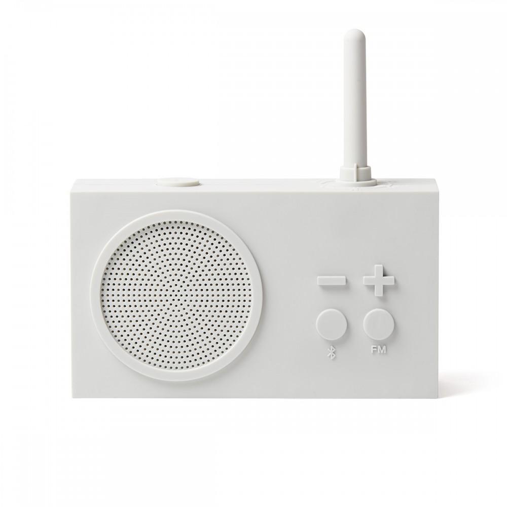 Bluetooth колонка с радио LEXON Tykho 3 белое