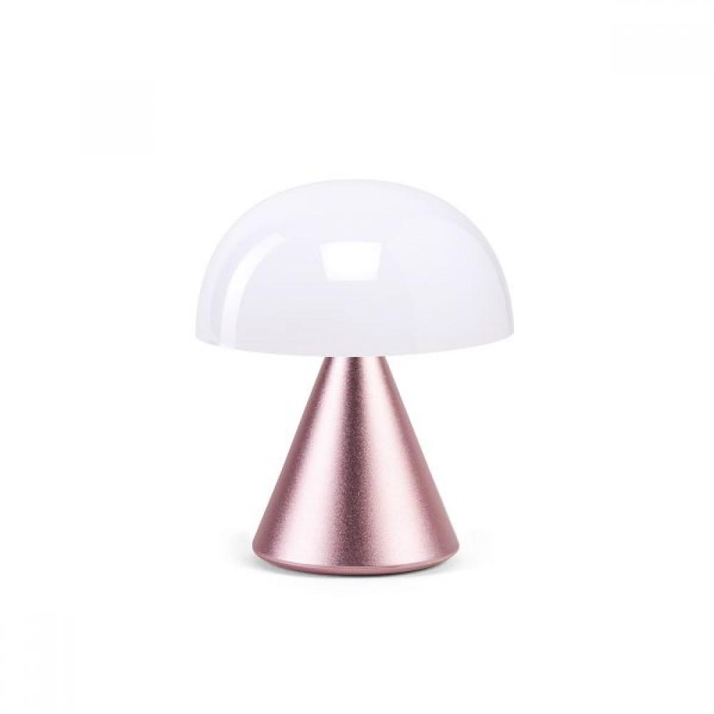Мини светодиодная лампа LEXON MINA 8,3 х 7,7 см, розовый