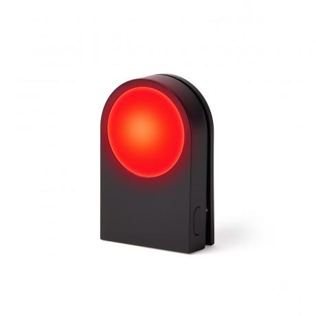 Фонарик-прищепка для безопасности на дороге LEXON LUCIE, черный