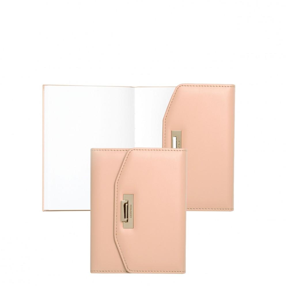 Блокнот A6 Fermoir Poudre Nina Ricci