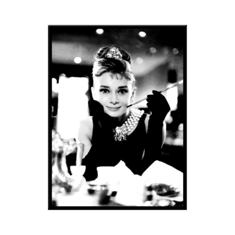 Магнит Audrey Hepburn - Holly Golightli