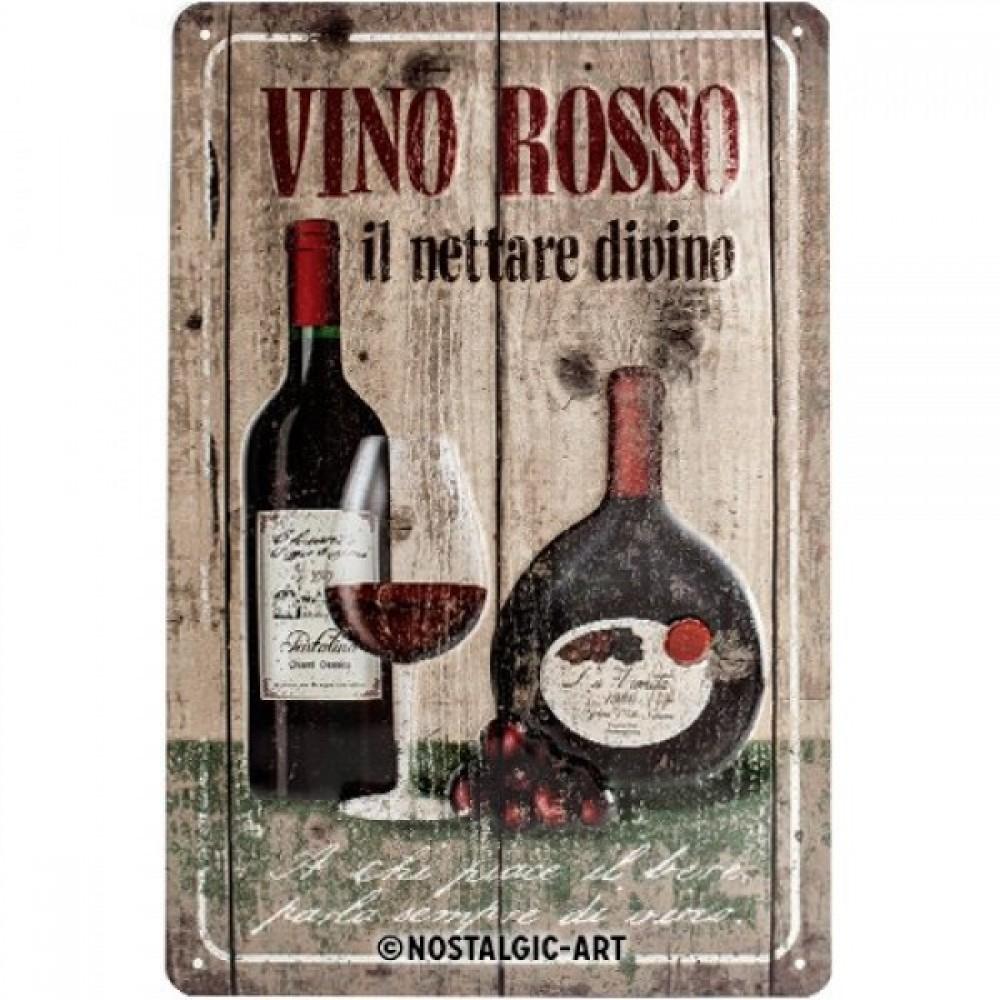 Магнит 8x6 смVini Rosso Nostalgic Art (14212)
