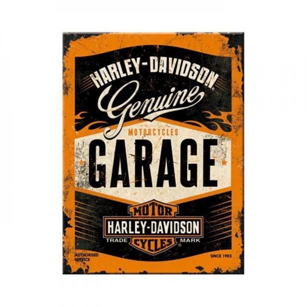 Магнит Harley-Davidson Garage