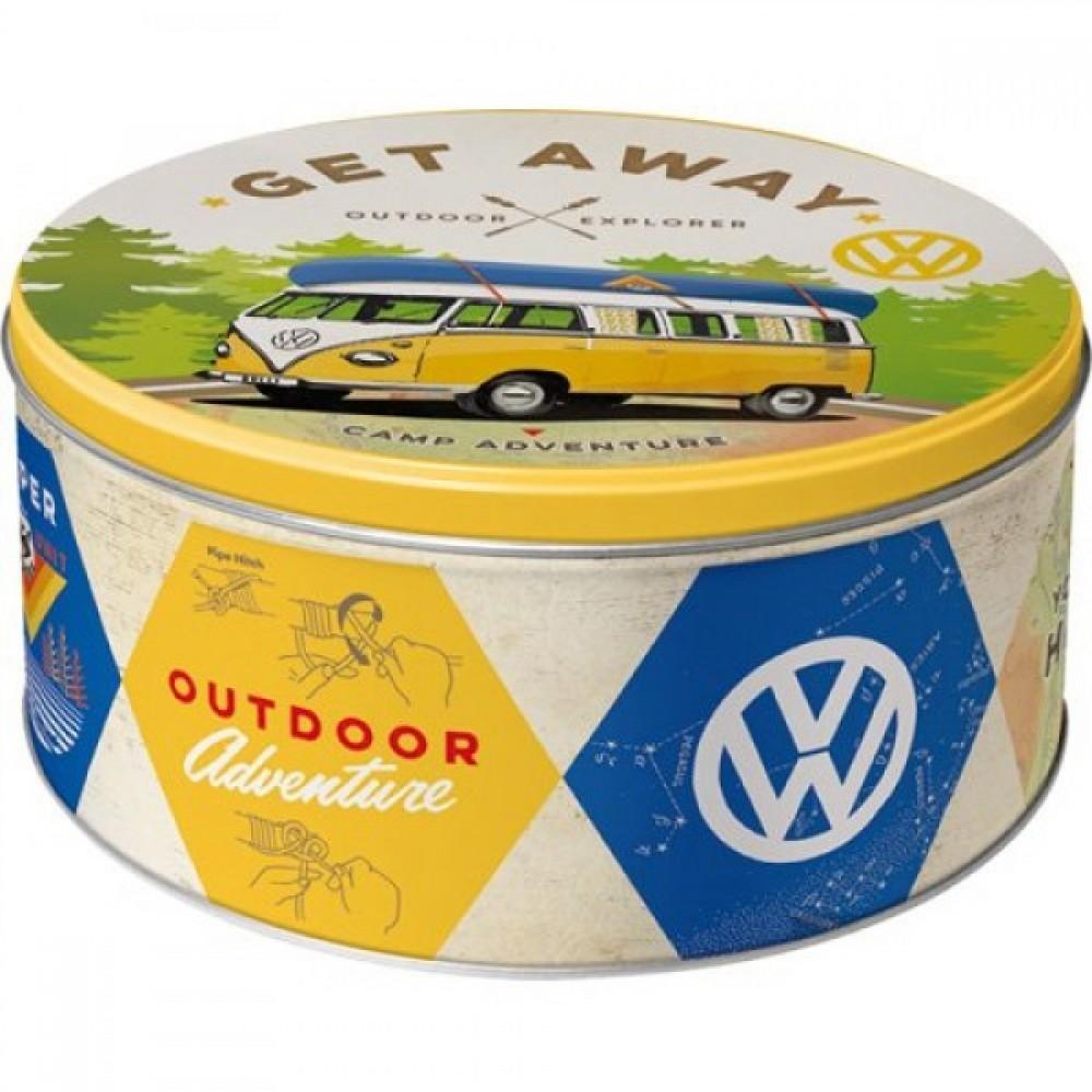 Коробка для хранения Round L VW Bulli Nostalgic Art (30601)