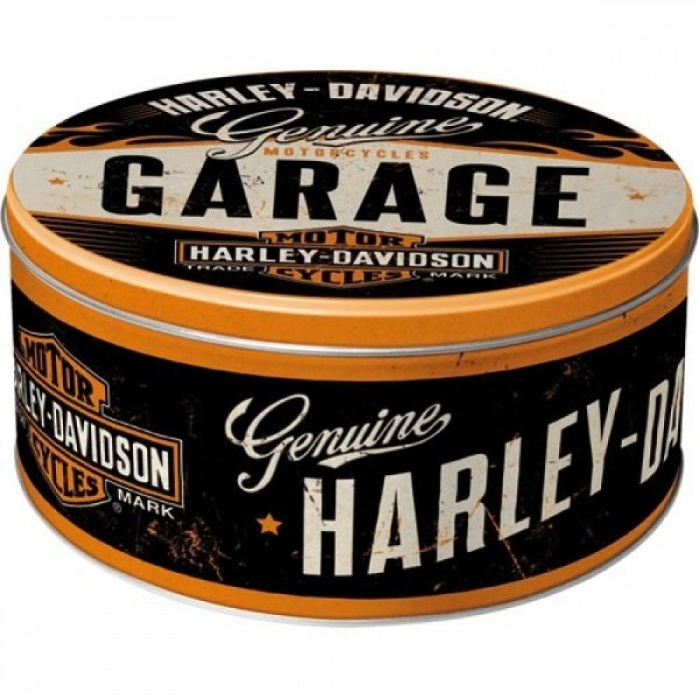 Коробка для хранения Round L Harley-Davidson
