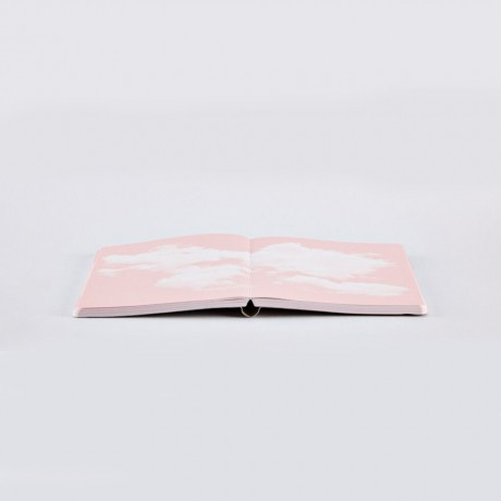 Блокнот Cloud pink, серии Inspiration book