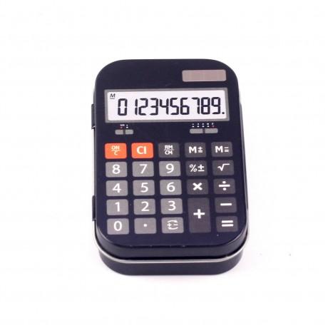 Металлическая коробочки Калькулятор