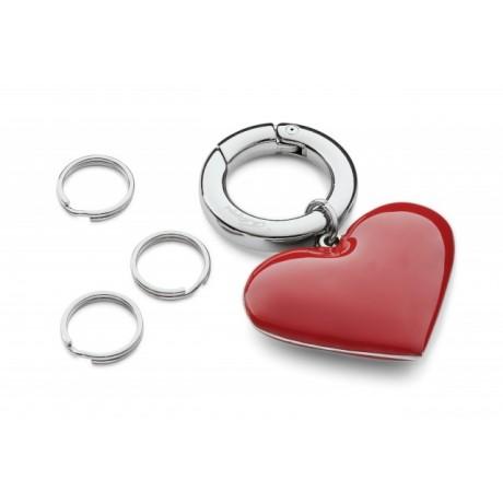 Брелок с кольцами Philippi  Сердце