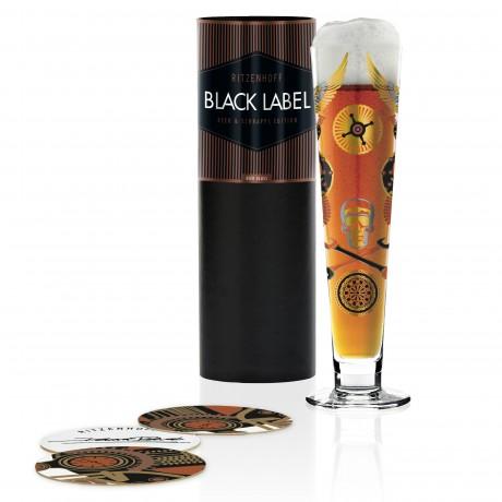 Пивной бокал Ritzenhoff Black Label от Debora Jedwab; 300 мл