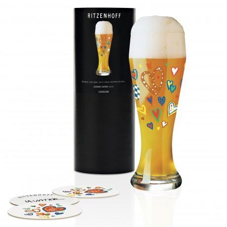Пивной бокал Ritzenhoff от Ulrike Vater, 500 мл