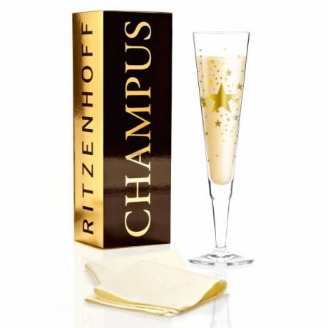 Бокал для шампанского Ritzenhoff от Ellen Wittefeld; 205 мл