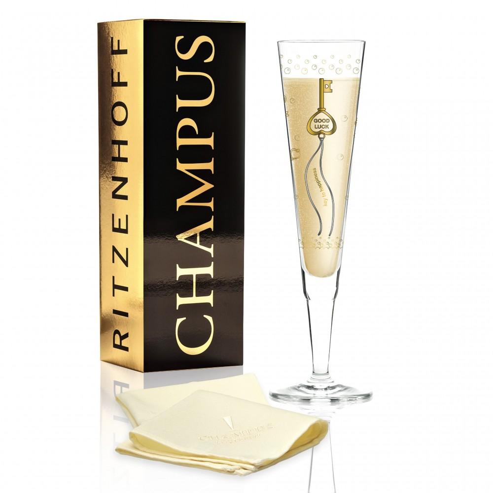 Бокал для шампанского Ritzenhoff  от Sven Dogs; 205 мл