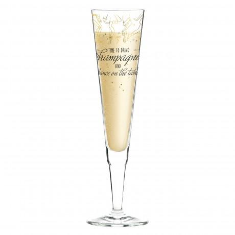 Бокал для шампанского Ritzenhoff от Natalia Yablunovska (Время пить шампанское) 205 мл