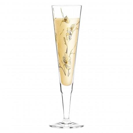 Бокал для шампанского Ritzenhoff Ветряные цветы от Marvin Benzoni; 205мл
