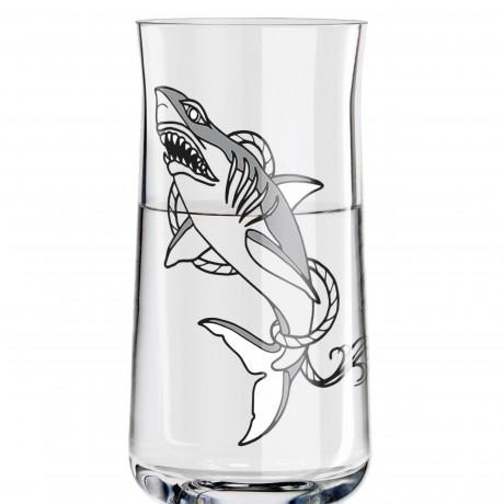 Рюмка Ritzenhoff Белая Акула от Tobias Tietchen, 62 мл