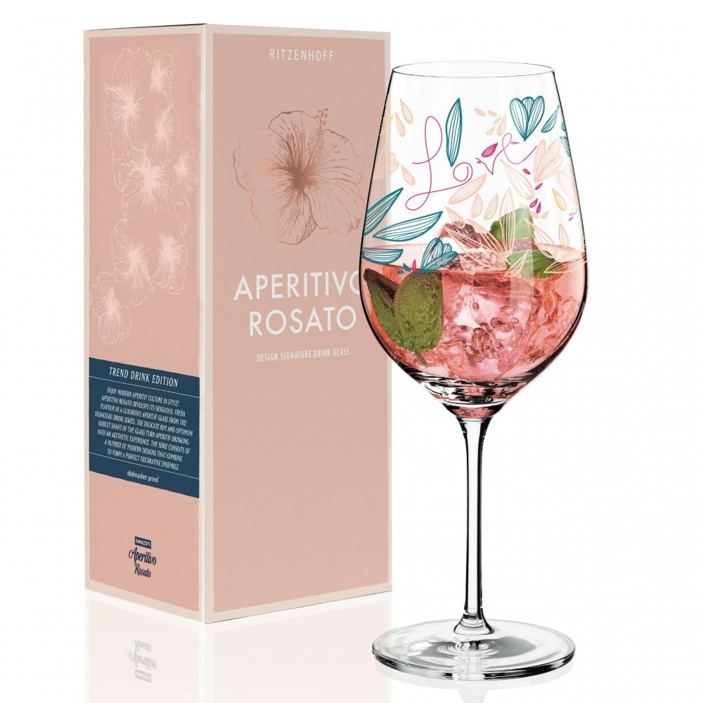 Бокал для игристых напитков Ritzenhoff Aperitivo Rosato от Véronique Jacquart; 605 мл