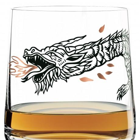 Стакан для виски Ritzenhoff Дракон от Olaf Hajek, 402 мл