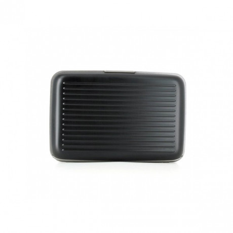 Кардхолдер-бумажник OGON Stockgolm, серо-черная