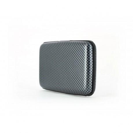 Кардхолдер-бумажник OGON Stockholm, карбон серый