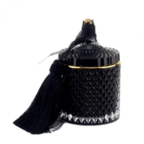 Аромасвеча Cote Noire «Art Deco» черная, большая