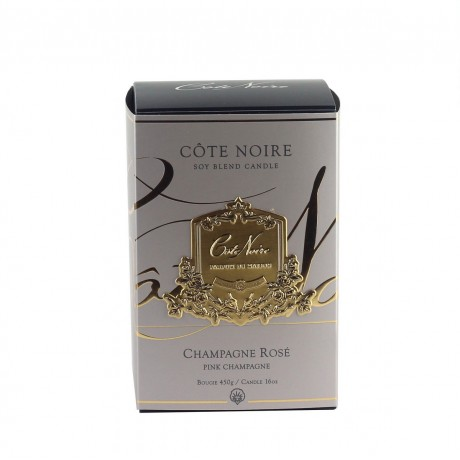 Аромасвеча Cote Noire «Champagne Rose-Pink Champagne»