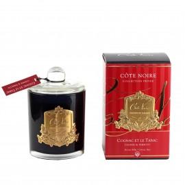 Аромасвеча Cote Noire «Cognac&Tobacco», 450 г