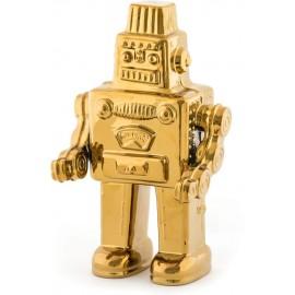 Робот фарфор Seletti, золото