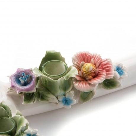 Подсвечник Seletti в виде топора с цветами Flower attitude