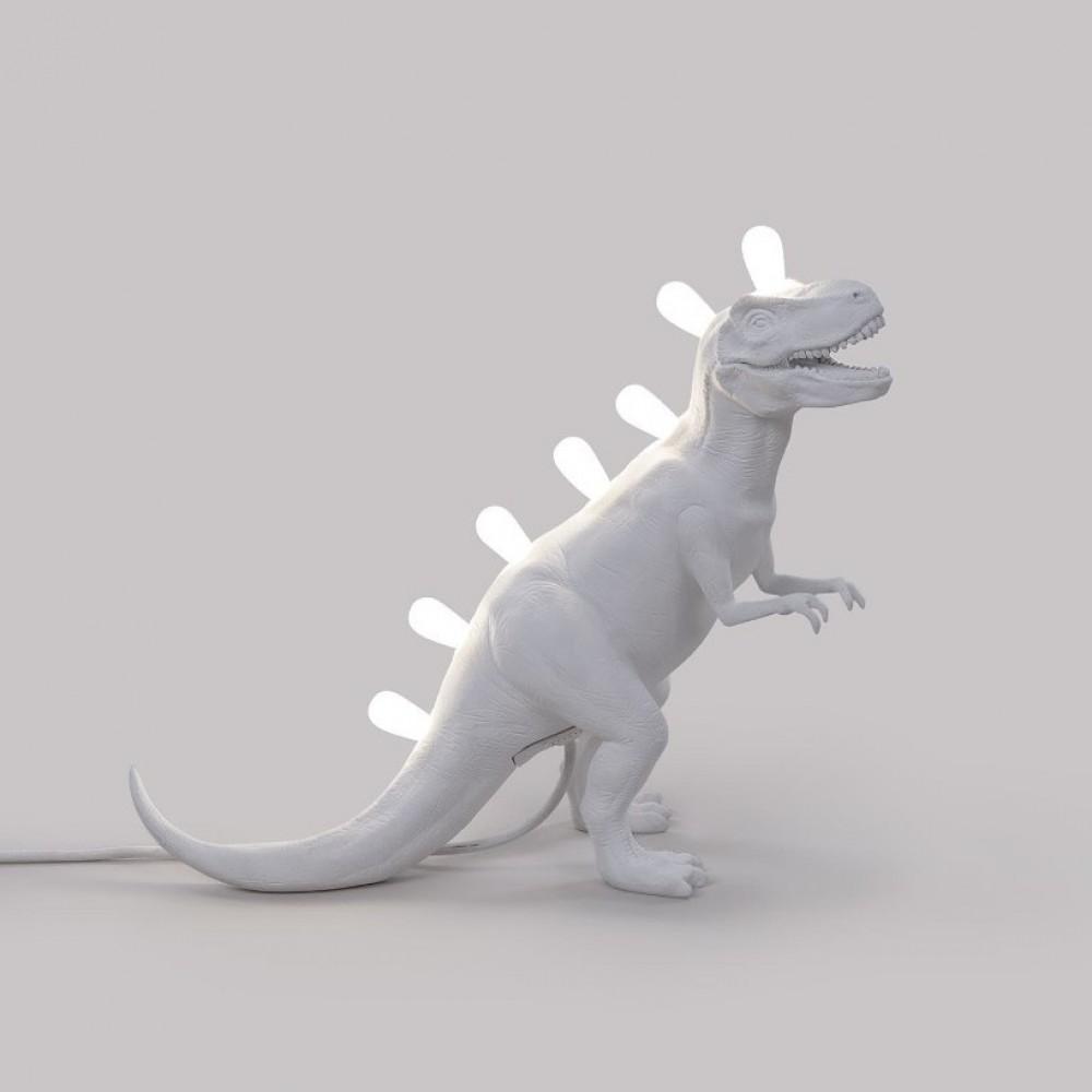Светильник Seletti Динозавр, белый