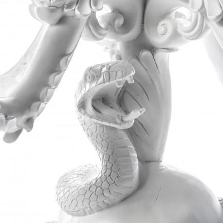 Канделябр Seletti с черепом Burlesque - the life logic, белый