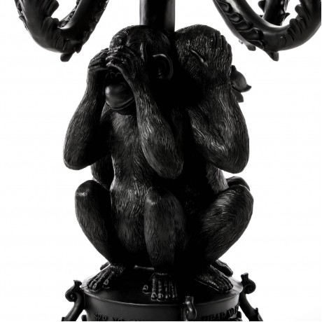 Канделябр на 5 свечей Seletti «Три обезьяны»