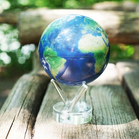Гиро-глобус Solar Globe Mova Вид из космоса 11,4 см (MG-45-STE-NE)