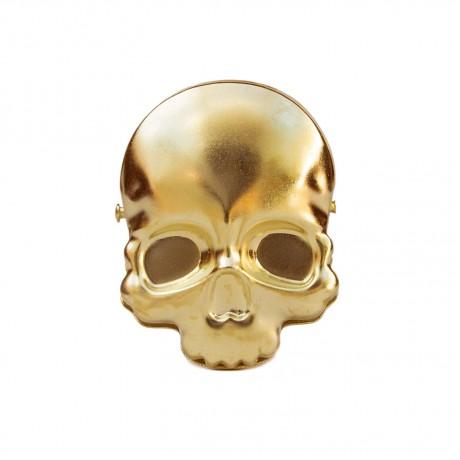 Биндер в форме черепа Suck Uk, золотой