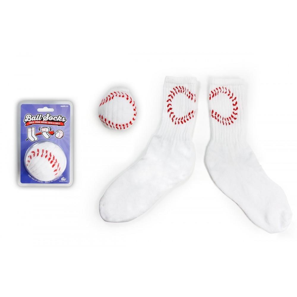 Носки подарочные Suck Uk Бейсбол